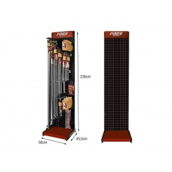 STAND PIHER 50cm -Lineal Display Stand